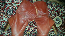 Leather 1970s Vintage Shoes for Women
