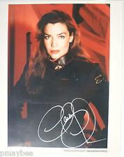"Autographed 8""x10"" Claudia Christian Photo with Coa as Susan Ivanova - Babylon 5"