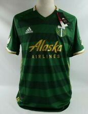MLS Adidas 2019 Portland Timbers Authentic Soccer Jersey 7418a Climacool 3 LARGE