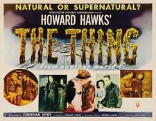 THE THING FROM ANOTHER WORLD Movie POSTER 22x28 Half Sheet James Arness Kenneth