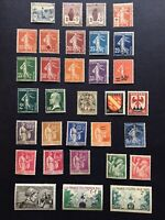 France 1914 - 1940s Collection MH