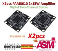 2pz PAM8610 2x15W Amplifier Digitale due canali Stereo Power amplifier Board