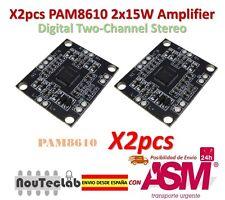 2pcs PAM8610 2x15W Amplifier Digital Two-Channel Stereo Power Amplifier Board