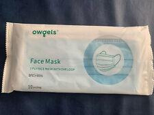 Einweg Mund- Nasebedeckung Gesichtsschutz 10er Pack NEU + OVP