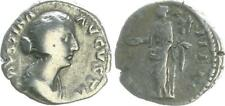DINAR 176 ANTIGUO / romanos época imperial, FAUSTINA Gato SS