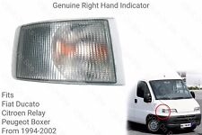 Genuine Ducato, Boxer, Relay Right Hand Front Indicator light/lamp 1994 to 2002