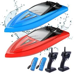 Kidfavor H116 RC Boat 2 Pack-Remote Control Boats for s Kids Pools and Lakes Boy