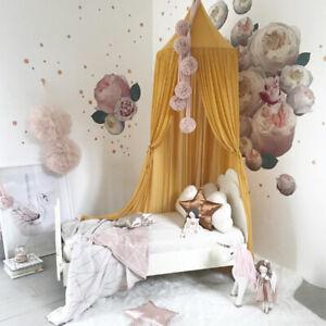Baby Chiffon Tent Nursery Decor Crib Pram Mosquito Net Canopy Curtain Bedding