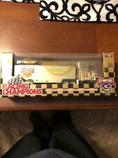 Racing Champions NASCAR Gold 50th Anniversary McDonalds Transporter Bill Elliott