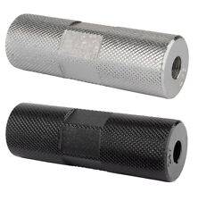 Axle Pegs Black Ops Knurled Pro 3/8x24/26T Silver or Black