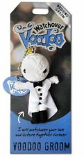 """Watchover """"Voodoo Groom"""" Voodoo Doll Keyring Christmas Gift Collectable Novelty"""