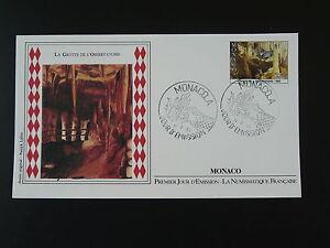 geology cave speleology FDC Monaco 73794