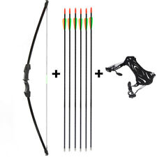 for Youth Teens Archery Takedown Recurve Bow and Arrows Set Hunting Toy  Gift