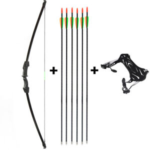 Kids Youth Archery Takedown Recurve Bow and Arrow Set Hunting Toy Christmas Gift