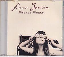 Laura Jansen-Wicked World Promo cd single
