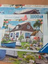 Ravensburger Fisherman's Cottage Jigsaw Puzzle 1000 Piece