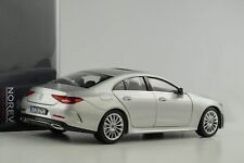 Mercedes Benz CLS Coupe S Class Silver 2018 1:18 Norev 183489