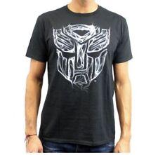Transformers - Black Smoke - Mens X-Large Black T-Shirt Graphic Tee  XL
