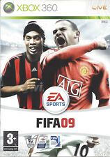 FIFA 09 for Xbox 360 - with box & manual - PAL