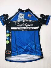 PRIMAL WEAR Triple Bypass 2009 Cycling Jersey Womens L Blue NWT