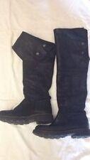 Stivali - colore nero - N° 35 - lunghi 52 cm - compreso il tacco 3 cm - USATI