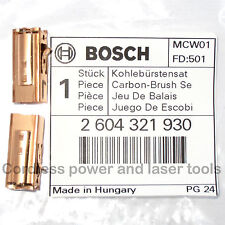 Bosch Carbon Brushes + Holders for PSB 500 RE Drill Genuine Part 2 604 321 930