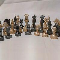Chess Vintage Ussr Soviet Set Russian Antique Tournament Rare Plastic Full Old
