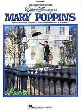 MARY POPPINS DISNEY EASY PIANO SHEET MUSIC SONG BOOK