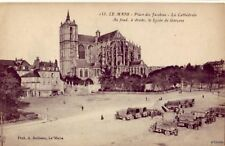 LE MANS FRANCE PLACE DES JACOBINS LA CATHEDRALE
