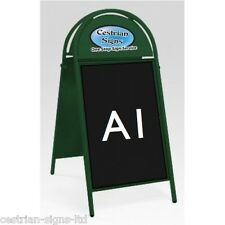 Brand New Cestrian Booster Commercial Tubular Magnetic A-frame A-board A1 GREEN
