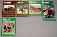 """1984 Lot of 6 Horse Racing """"The Canadian Horse """" Issues"""