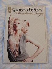 GWEN STEFANI 2007 The Sweet Escape Concert Tour Program Book!!!