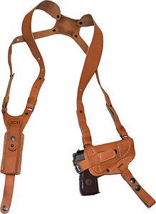Ambidextrous shoulder holster for 1911 type Kimber, Colt, TT Tokarev, Makarov