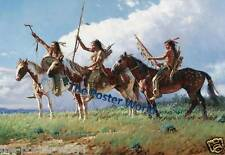 NATIVE AMERICAN INDIANS PICTURE POSTER HOME ART PRINT WALL DECOR NEW