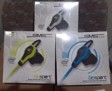 A lot of 25 SMS Audio biosport Biometric Earbuds With Heart Rate Monitor  ( New)