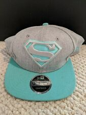 New Era 9Fifty Superman Cap Snapback Adjustable-Brand New With Tags-Free Ship