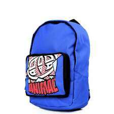 "ANIMAL Sydney Backpack Blue ""Junior"" School Bag LU5SG602-882 **FREE HARIBO"
