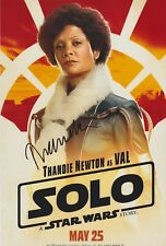Thandie Newton Signed Solo: A Star Wars Story 12x8 Photo AFTAL