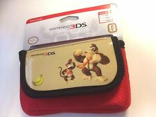 Nintendo 3DS DSi DS Lite NEW * DONKEY KONG + DIDDY KONG Console Game Pouch Case