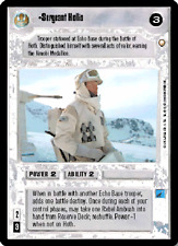 Sergeant Hollis [Near Mint/Mint] SPECIAL EDITION star wars ccg swccg zz
