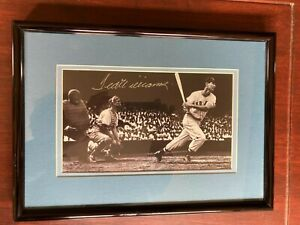 Ted Williams signed - framed limited edition Upper Deck authenticated picture
