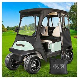 10L0L 2 Passenger Deluxe Golf Cart Driving Enclosures for Club Car Precedent ...