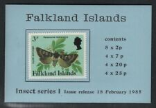 Falkland Islands 1985 Insects Booklet SG# SB6 NH