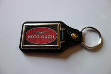 MOTO GUZZI FAUX LEATHER KEY RING/KEY FOB.