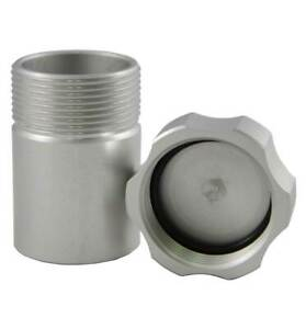 Aluminium Weld-On Fuel Filler Neck + Cap & O-Ring for Fuel Tank