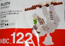Sloth Nanoblock Micro Sized Building Block Construction Toy NBC122 Kawada