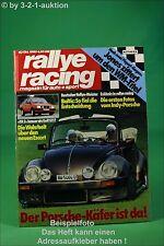 Rallye Racing 10/80 Albar VW Käfer Cabrio Ford XR 3