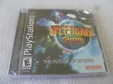 FACTORY SEALED PLAYSTATION PS1 GAME SPEEDBALL 2100 BRAND NEW EMPIRE INTERACTIVE