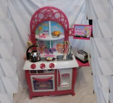 BARBIE GOURMET KITCHEN Over 3.5 Ft Tall CHILD SIZE Playset Full size + Dolls