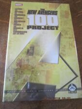 THE NEW AVENGERS 100 PROJECT The Hero Initiative HARDCOVER Shrink Wrapped!
